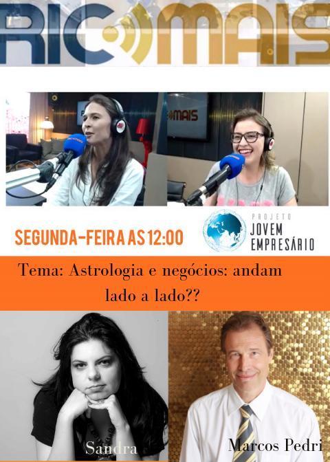 PODCAST RICMAIS : Astrologia e negócios, andam lado a lado?