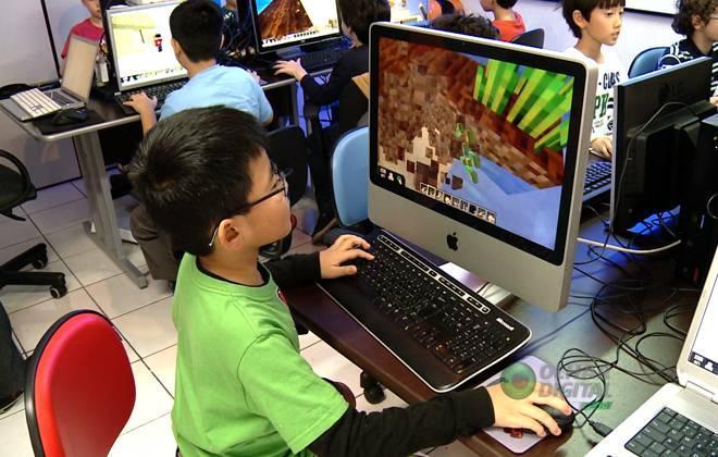 Os games e o ensino de programação
