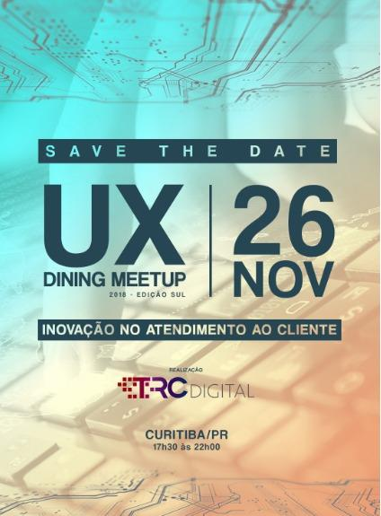 SAVE THE DATE : UX Dining Meet Up