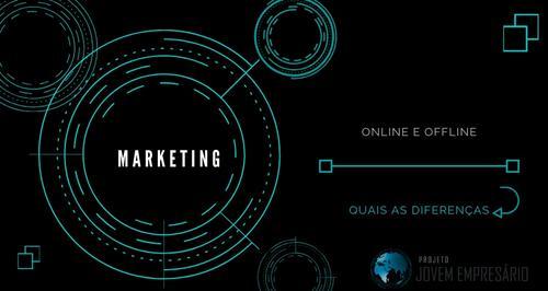 Conheça a diferença de Marketing Online e de Marketing Offline.