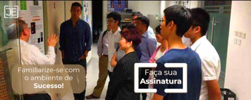 Visita Técnica: É uma oportunidade única disponibilizada pelos empresários participantes do Projeto Jovem Empresário