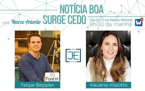 Notícia Boa Surge Cedo com Felipe Beppler e Kauana Vissotto