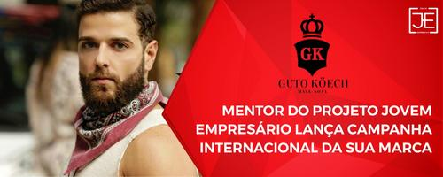Mentor do Jovem Empresário lança campanha internacional da sua marca