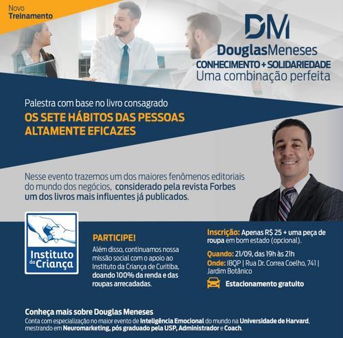 Palestra com o mentor Douglas Meneses