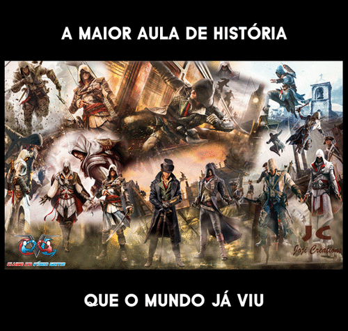 História e Geografia com o Game Assassin's Creed
