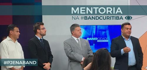 Estúdio da Band TV foi cenário de Mentoria